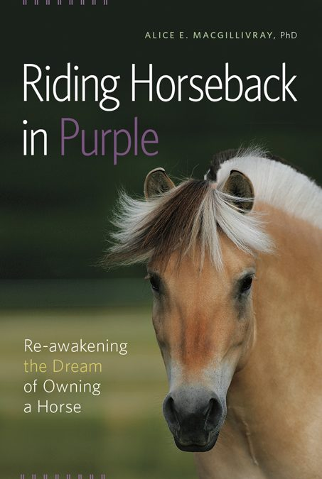 Riding Horseback in Purple Cover